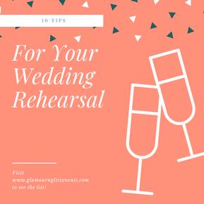 Wedding Rehearsal: How to Prepare?