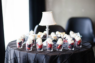 Glamour N'Glitz Events Photography by Mcphereson desserts