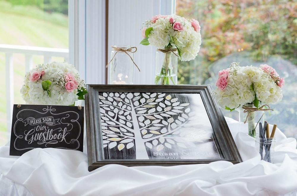 Guestbook, etsy, wedding guestbook