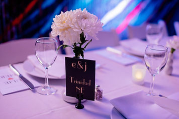 Glamour N'Glitz Events LLC extravagent room simple table decor photography by the Oberports