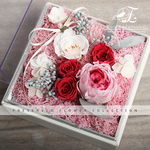 Preserved Roses in Display Box