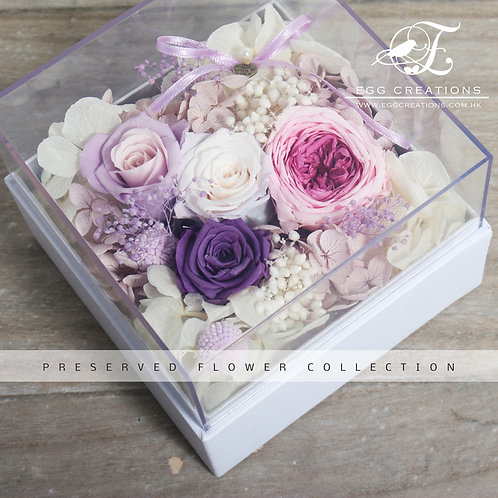 Preserved Flowers in Display Box