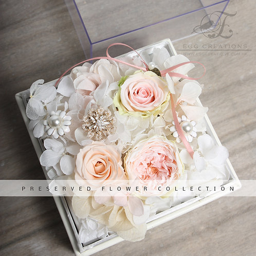 Preserved Flowers in Display Box