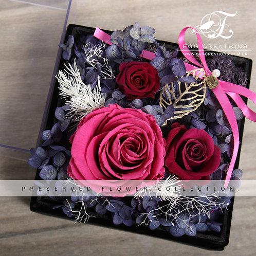Preserved Rose in Display Box