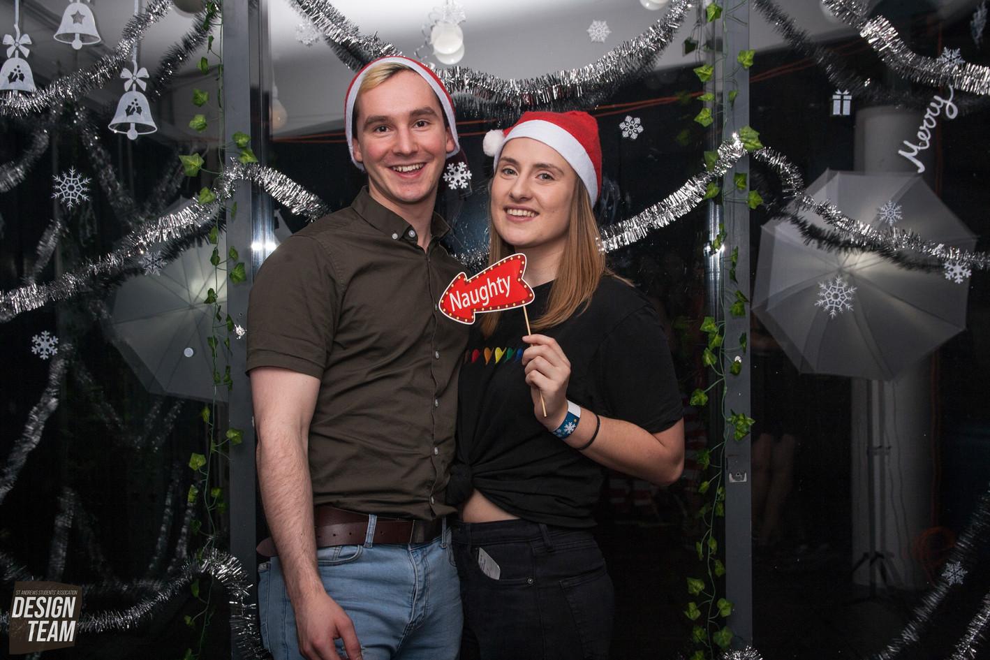 Christmas Photobooth by Erika Gravina and Rebekka Uhl