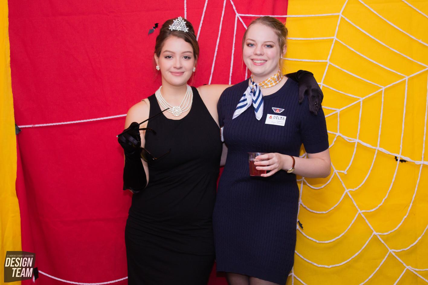 Halloween Photobooth by Erika Gravina and Rebekka Uhl