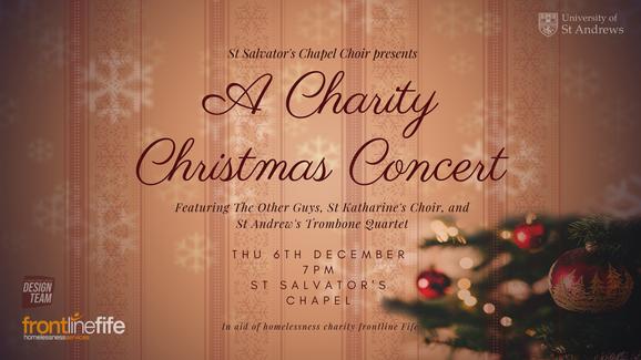 St Salvator's Chapel Choir Christmas Con