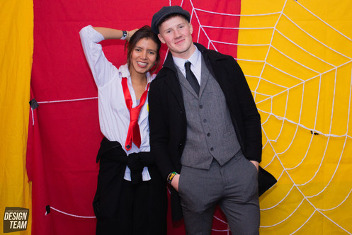 Halloween Photobooth by Erika Gravina and Rebekka Uhl