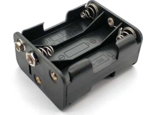 6 AA Battery Holder with 9Volt Clip
