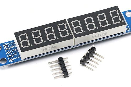 MAX7219  8 Digit 7 Segment Controller Module
