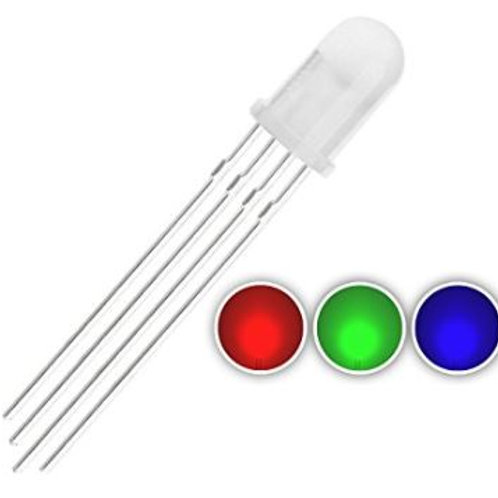 RGB LED - 5mm Diffused Common Anode (2 Pack)