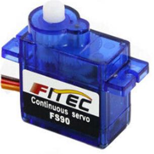 Feetech FS90 120 degree servo motor.
