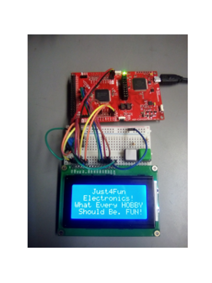 16 x 4 Character LCD Display Blue