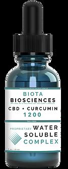 WS Complex CBD + Curcumin Tincture (1 oz)