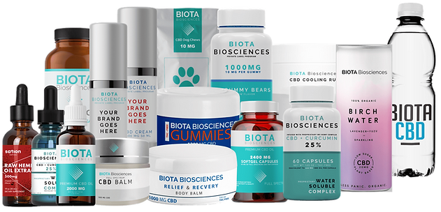 Biota Biosciences CBD Oil White Label Wholesale Products