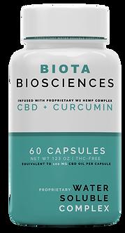 WS Complex CBD + Curcumin Capsules (60 ct.)