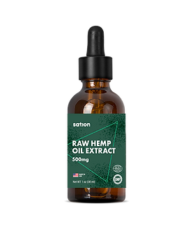 500 MG CBD Oil Tincture - Spearmint Flavor (Sation)