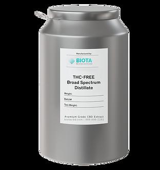 Broad Spectrum Oil (80% - 90%)