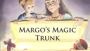 A little girl peers into her great aunt's magical trunk
