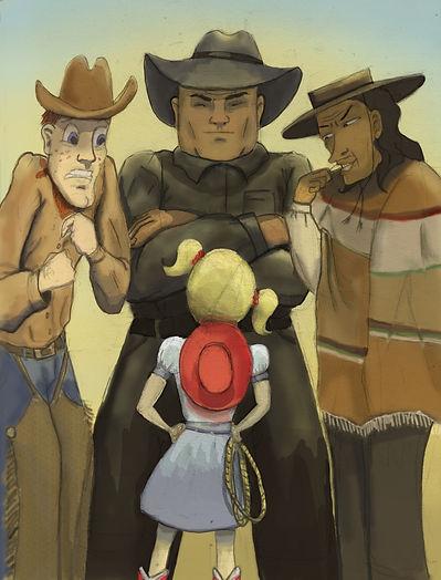 cowgirl, desperados