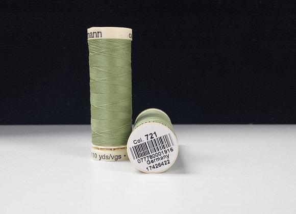 Gutermann Pure Lime Green #721 110 yds