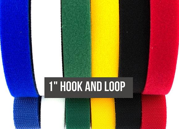 "1"" Colored Hook and Loop Fasteners"