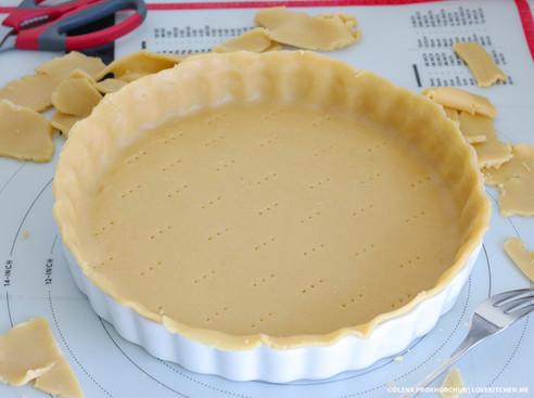 Універсальний рецепт солодкого пісочного тіста (холодний спосіб)