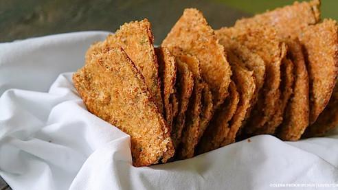 Рецепт висівкових хлібців