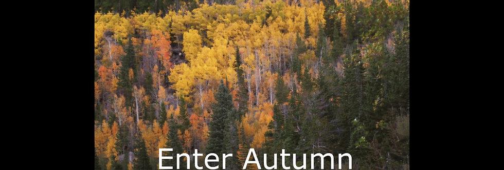 Enter Autumn (score & parts)