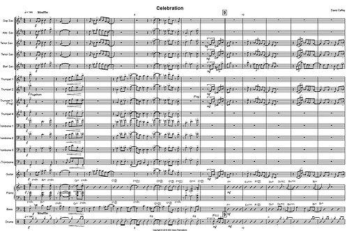 Celebration (score & parts)