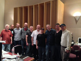 After the final ENTER AUTUMN Recording Session, May 2015