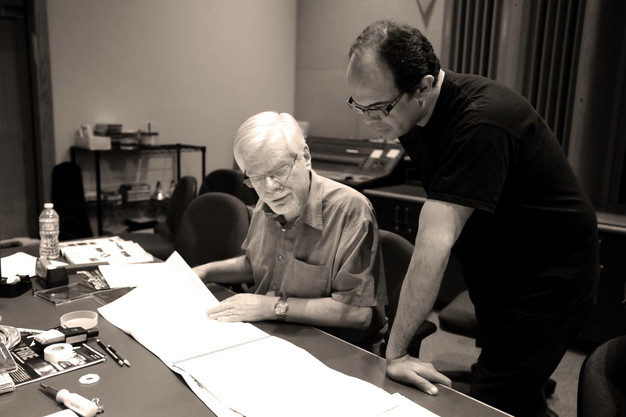 With Socrates Garcia during his CD Recording Session