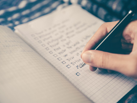 The Importance of Writing Down Your Life Goals