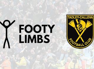 Tadley Calleva FC partner with Footy Limbs