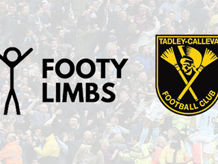 Tadley Calleva FC partner with Footy Limbs
