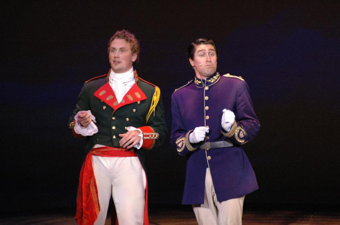Production Photo, Adler Roberts and Aaron Cotano