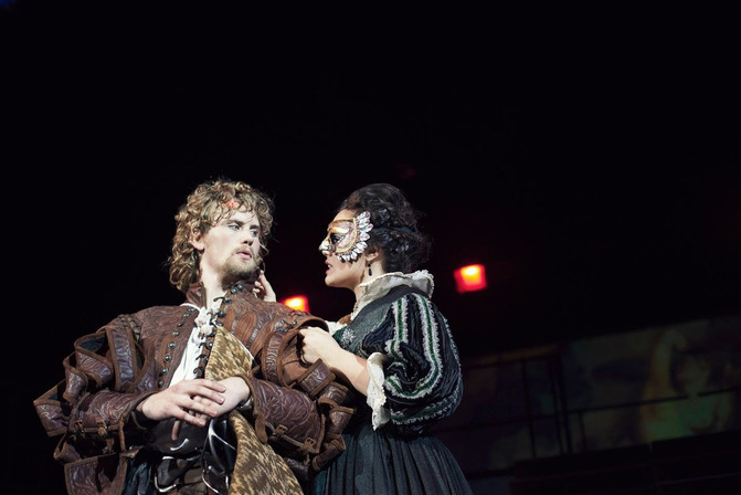 Production Photo, Adler Roberts and Amaia Arana