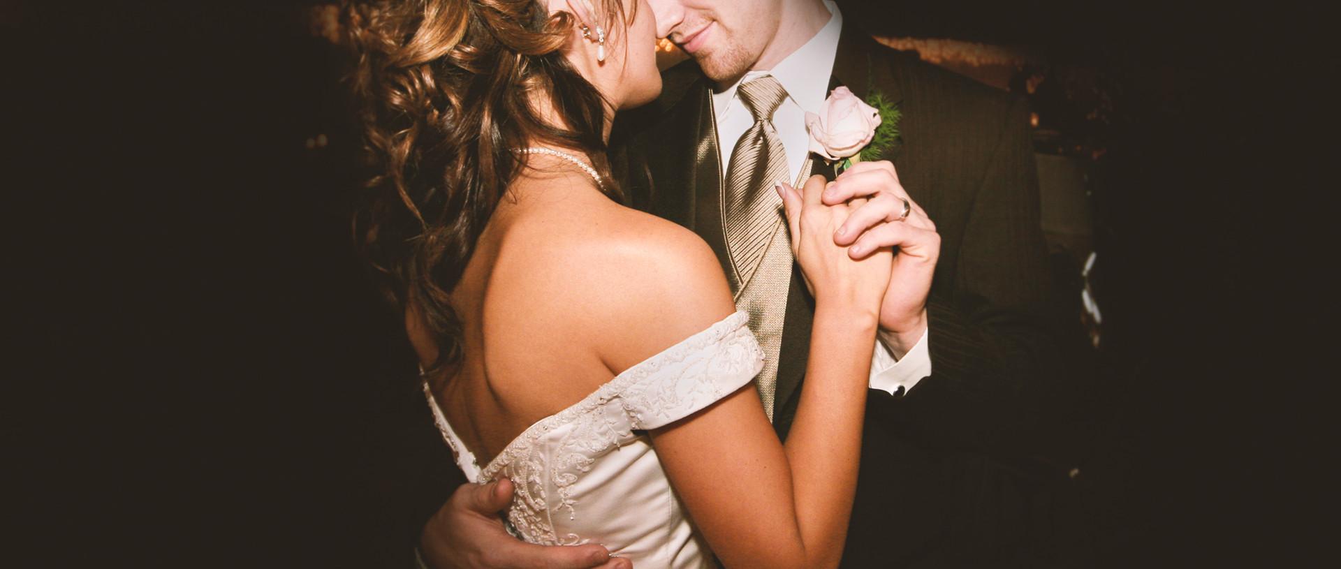 Couple on Wedding