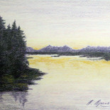 Glenmore at Dusk by Barboria Bjarne