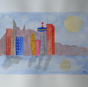 Seattle - A Colorful City by Barbori Garnet