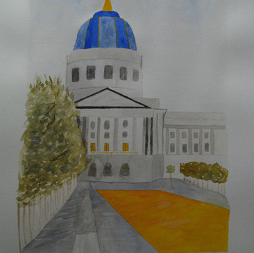 San Francisco Civic Centre by Barbori Garnet