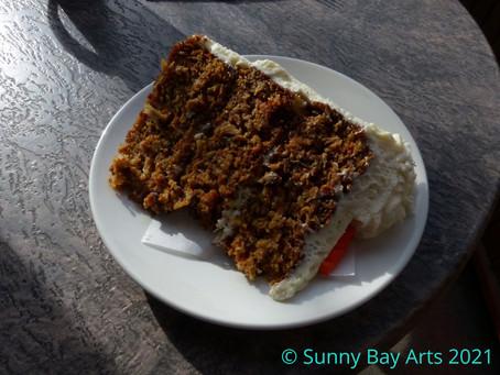 Tasty Thursday - Purple Perk's Carrot Cake