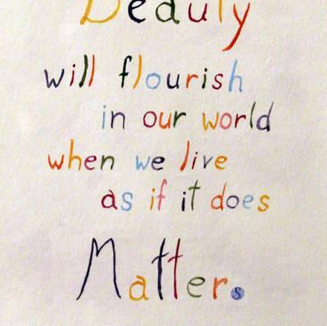 Beauty Matters by Barboria Bjarne
