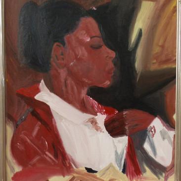 Rosie's Portrait by Barbori Garnet