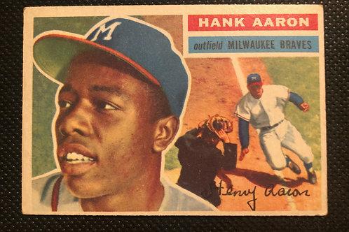 1956 Hank Aaron card #31