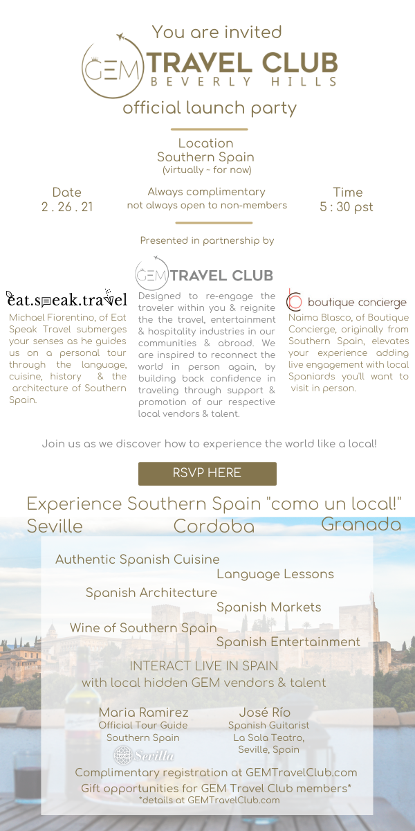 GEM Travel Club Beverly Hills Launch Par
