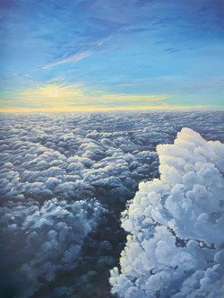 Rising Above The Cloud Deck