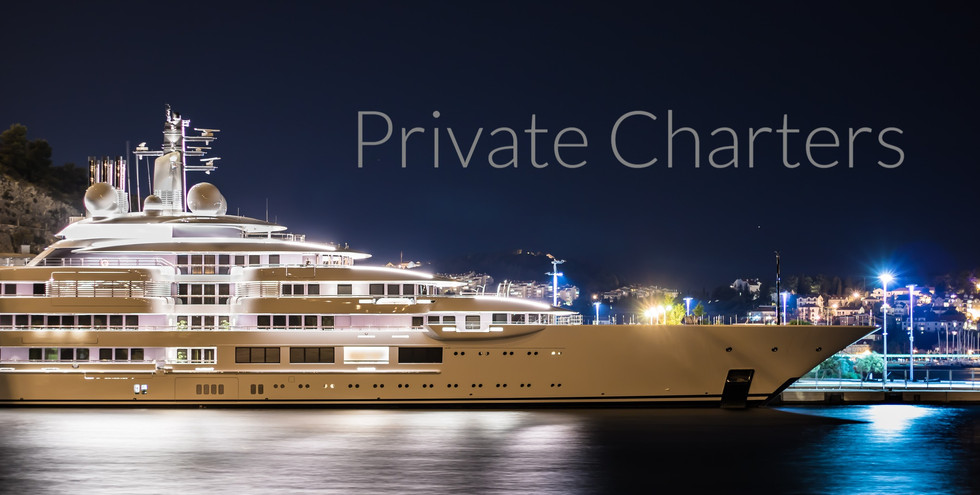 Private Charters Mega Yachts