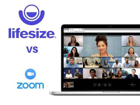 Cinco razones para usar en tus videoconferencias Lifesize y no Zoom