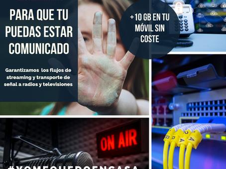Las telecomunicaciones, un sector estratégico con la crisis del Coronavirus